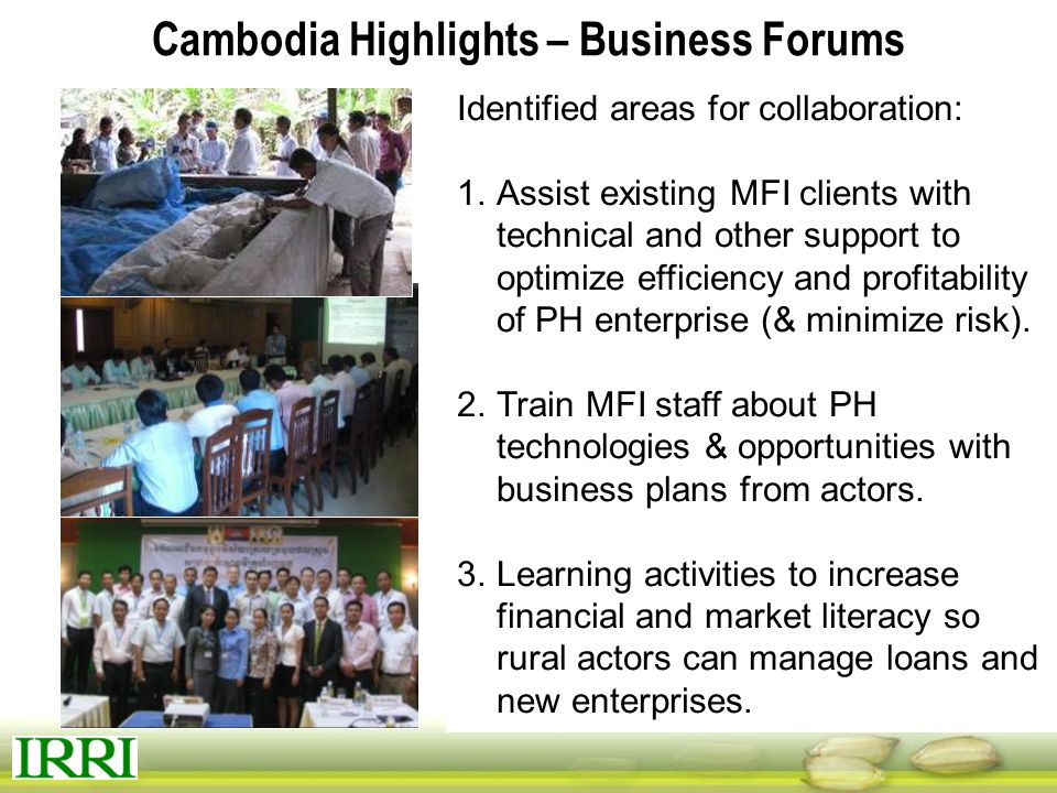 Cambodia Highlights – Business Forums