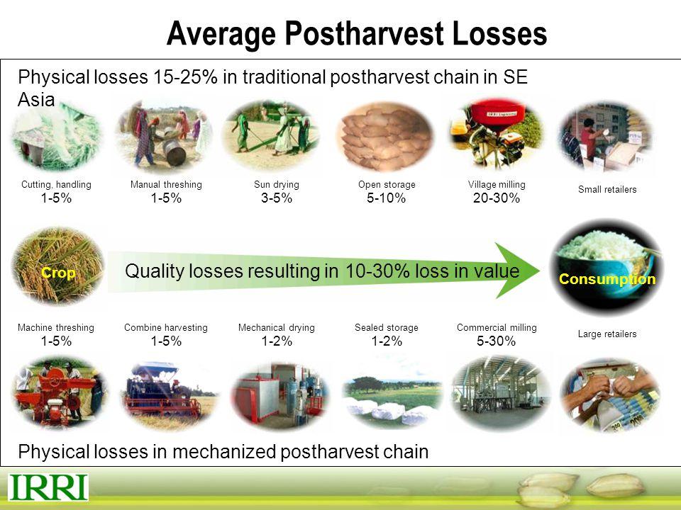 Average Postharvest Losses