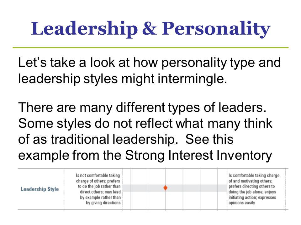 Leadership & Personality