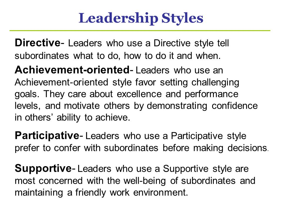 pros and cons of leadership styles pdf