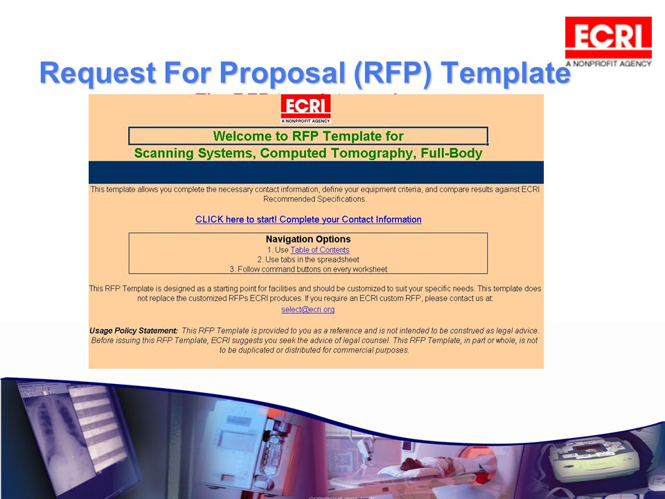 Request For Proposal (RFP) Template The RFP template can be customized to suit your needs.