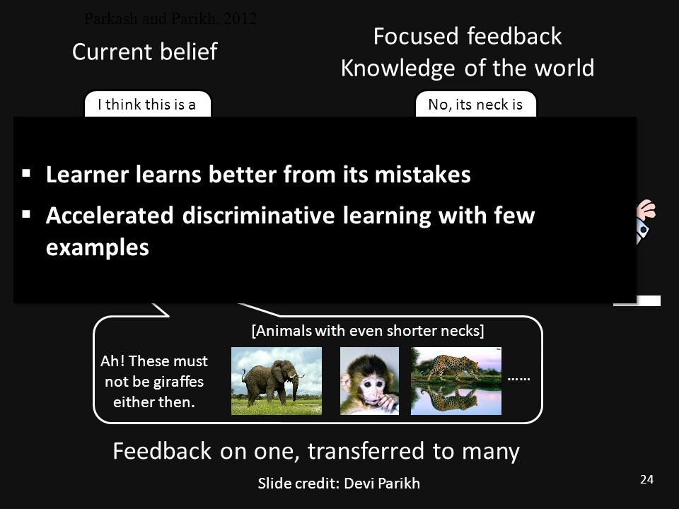Learner learns better from its mistakes