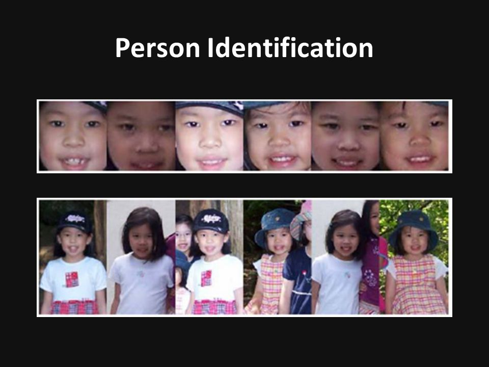 Person Identification