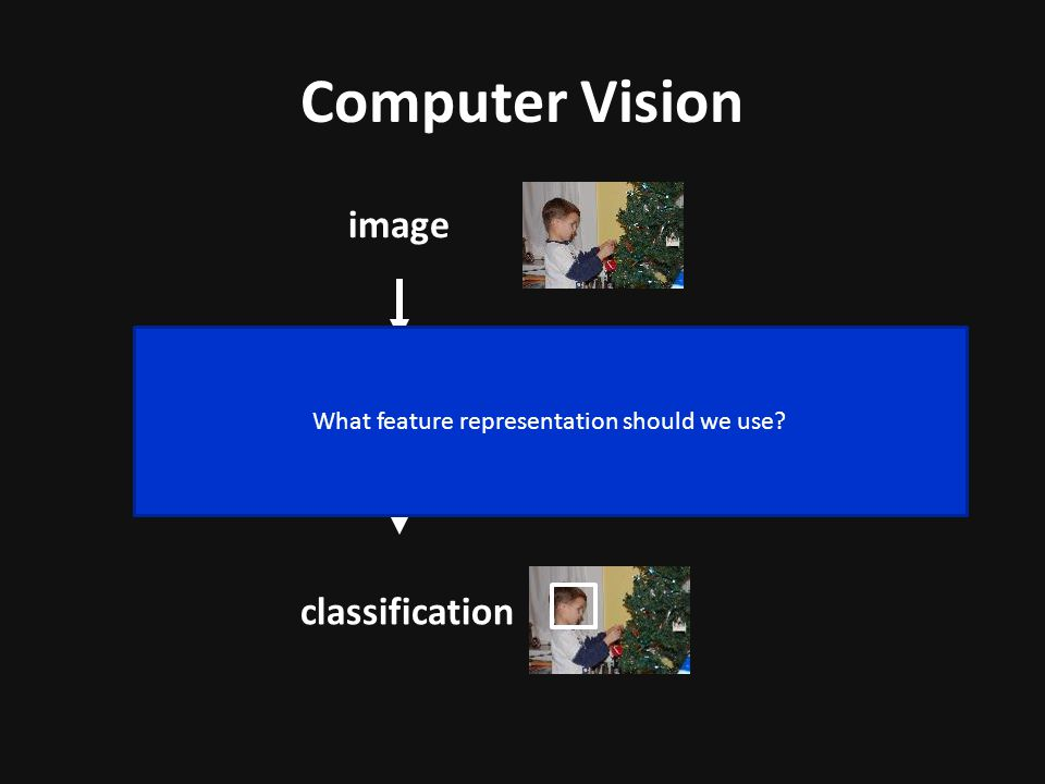 What feature representation should we use