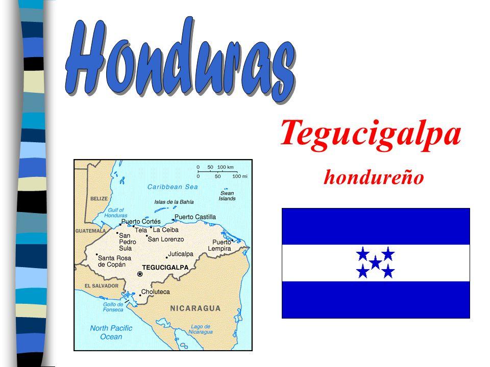 Honduras Tegucigalpa hondureño