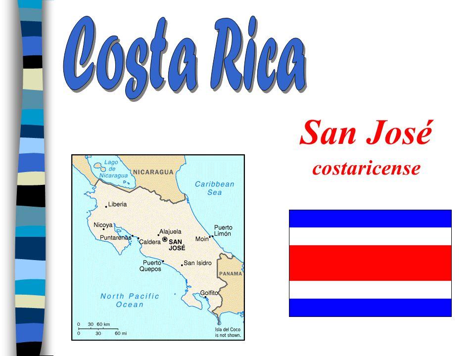 Costa Rica San José costaricense