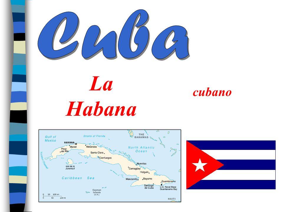 Cuba La Habana cubano
