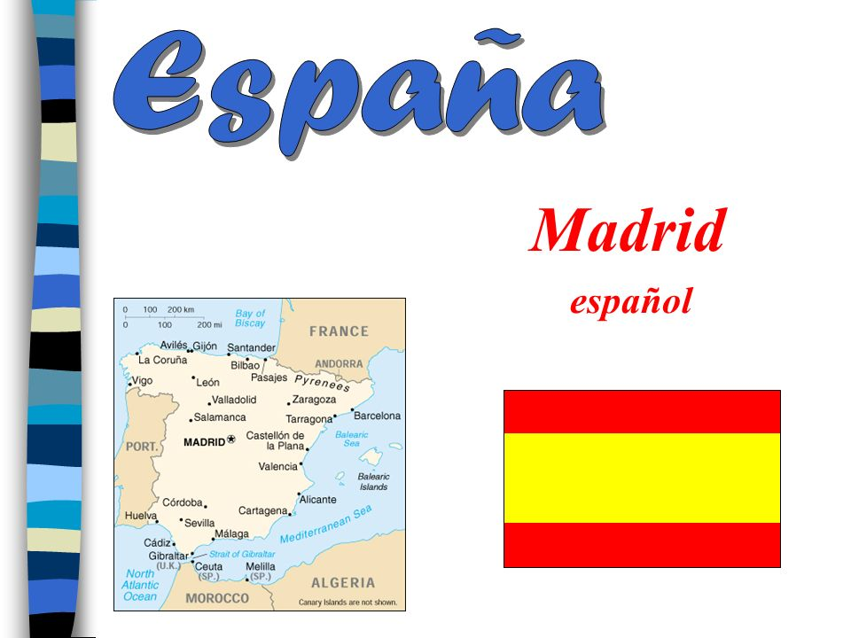 España Madrid español