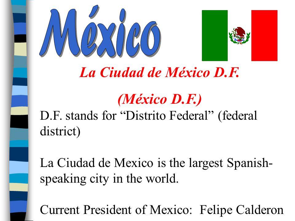 La Ciudad de México D.F. (México D.F.)