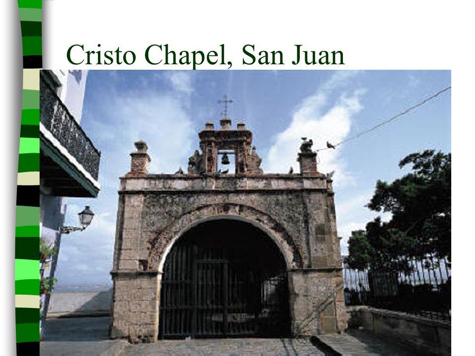 Cristo Chapel, San Juan