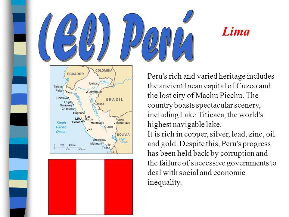 (El) Perú Lima.