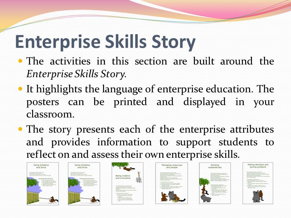 Enterprise Skills Story
