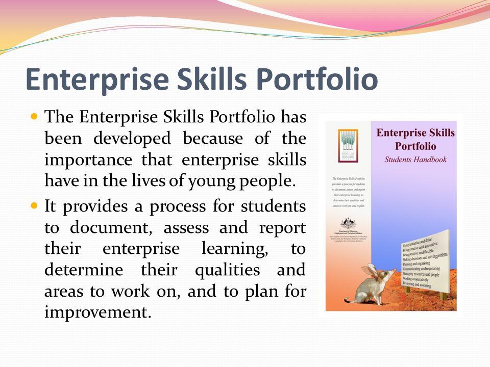 Enterprise Skills Portfolio