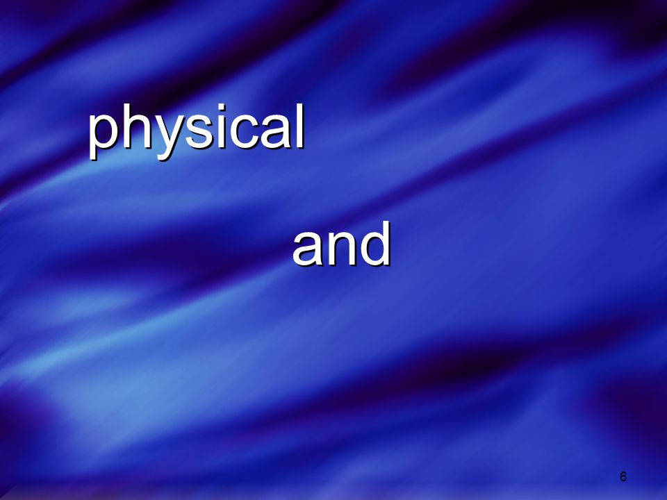 physical and