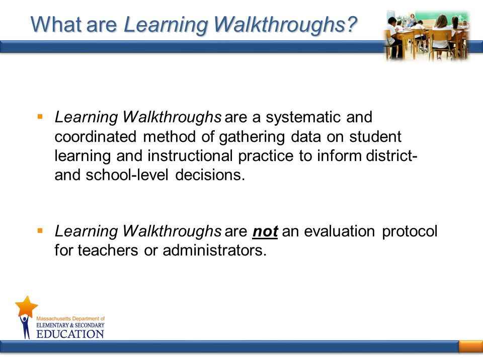 What are Learning Walkthroughs