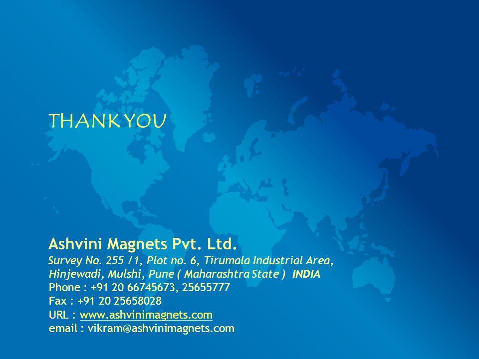 THANK YOU Ashvini Magnets Pvt. Ltd.