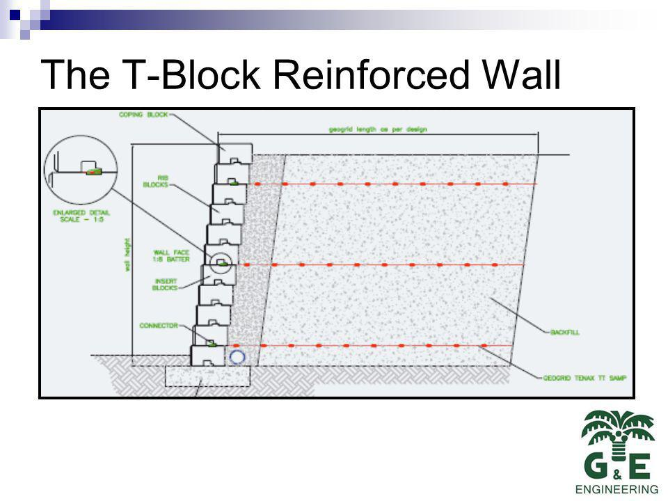 The T-Block Reinforced Wall