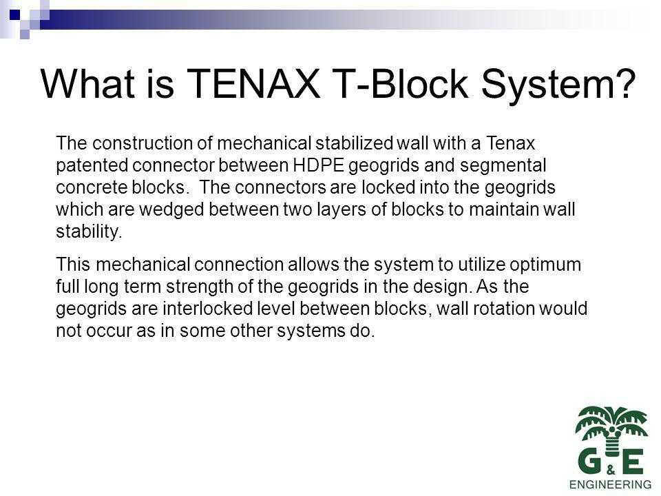 What is TENAX T-Block System