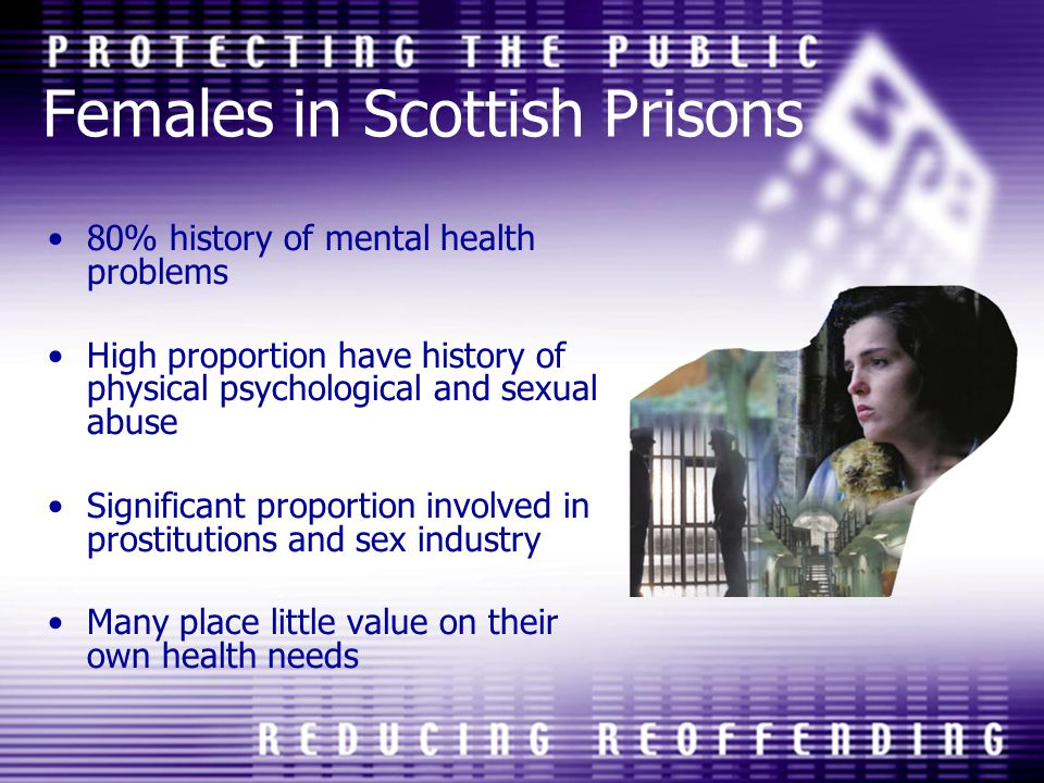 Females in Scottish Prisons