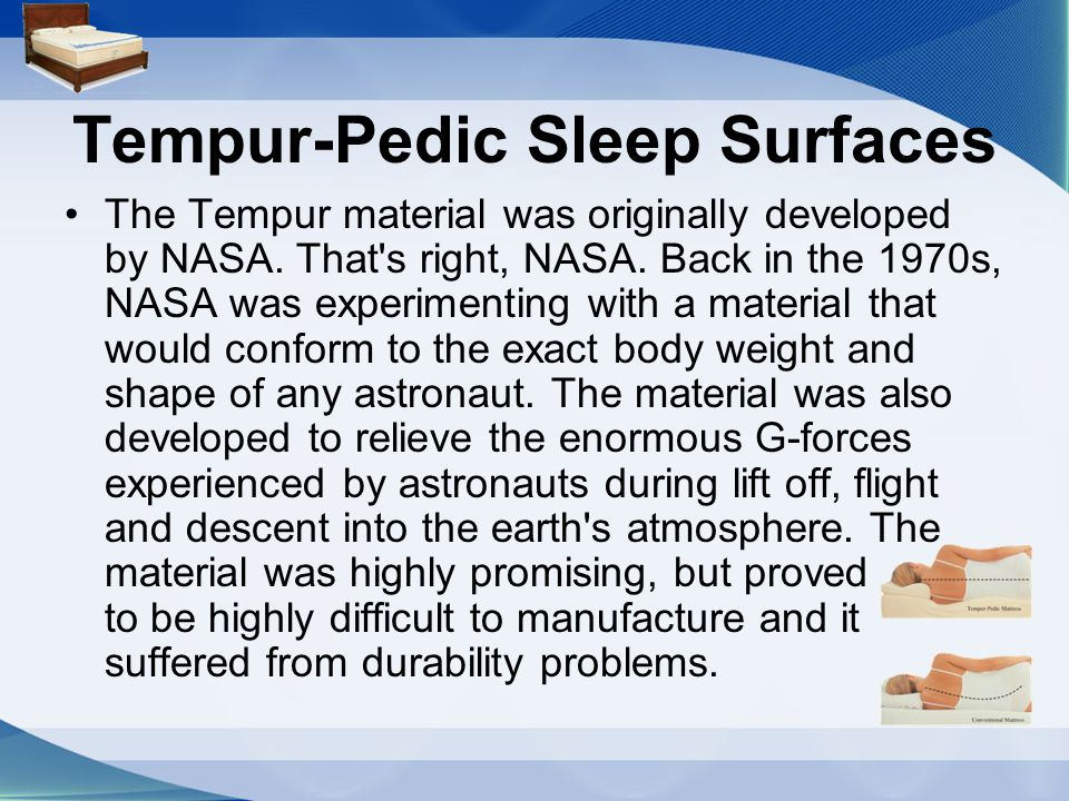 Tempur-Pedic Sleep Surfaces