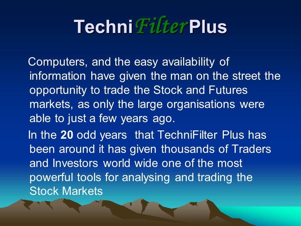 TechniFilter Plus