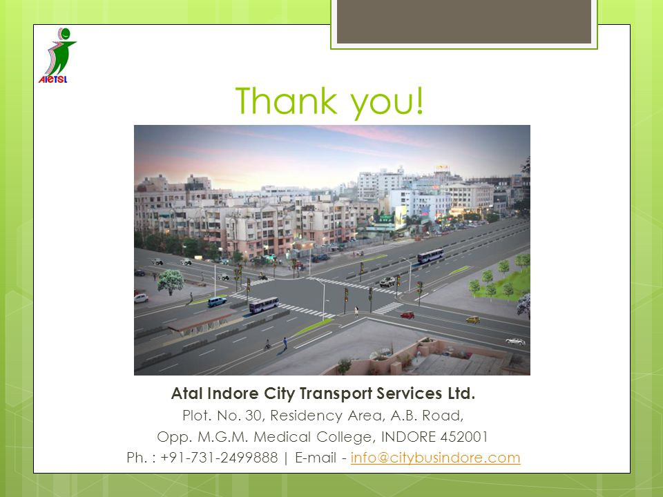 Atal Indore City Transport Services Ltd.