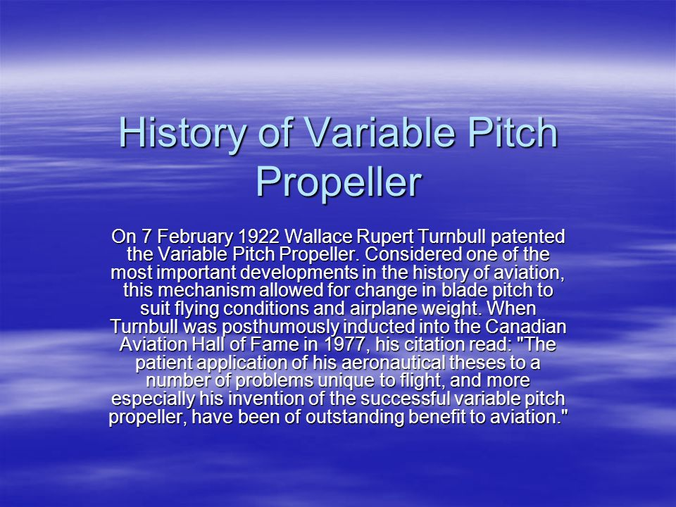a history of wallace rupert turnball a canadian inventor Positive impacts of canadian contribution not only have these inventions changed our technology history wallace rupert turnbull'sinvention.