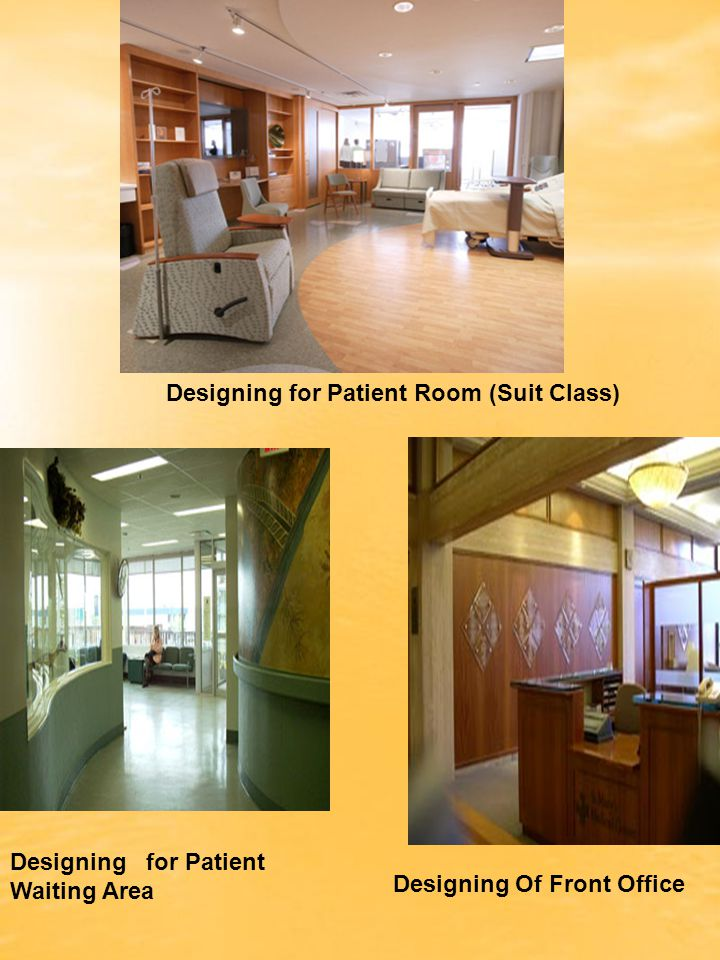 Designing for Patient Room (Suit Class)