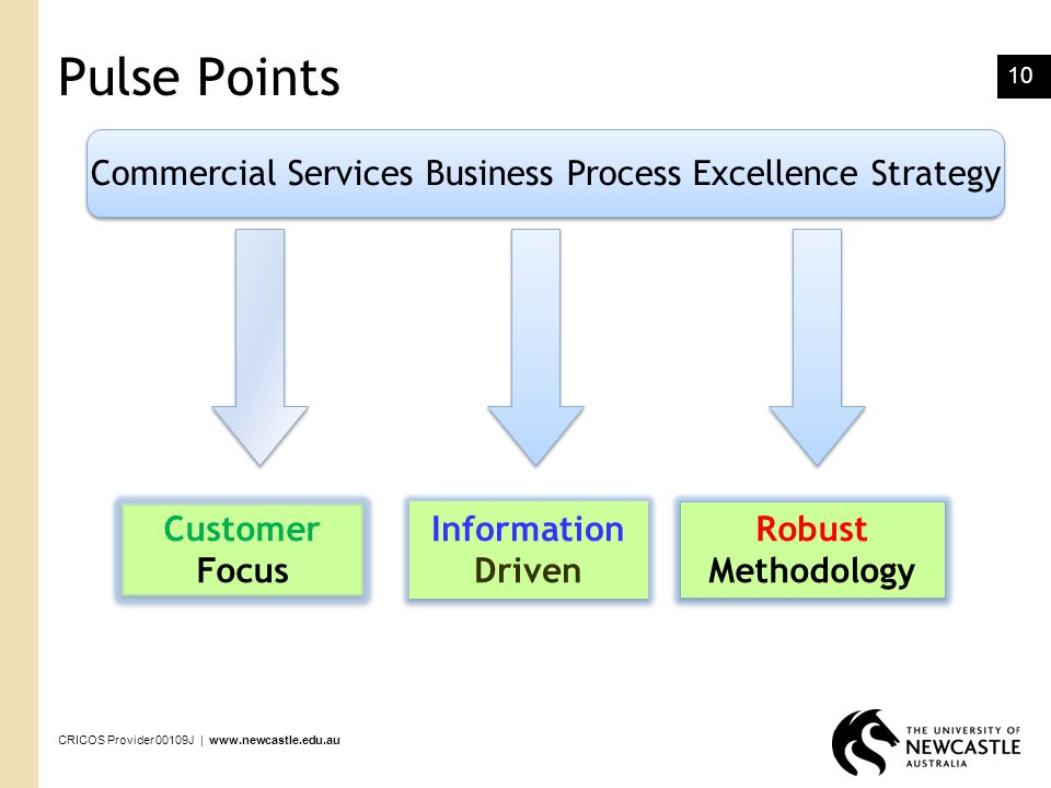 Commercial Services Business Process Excellence Strategy