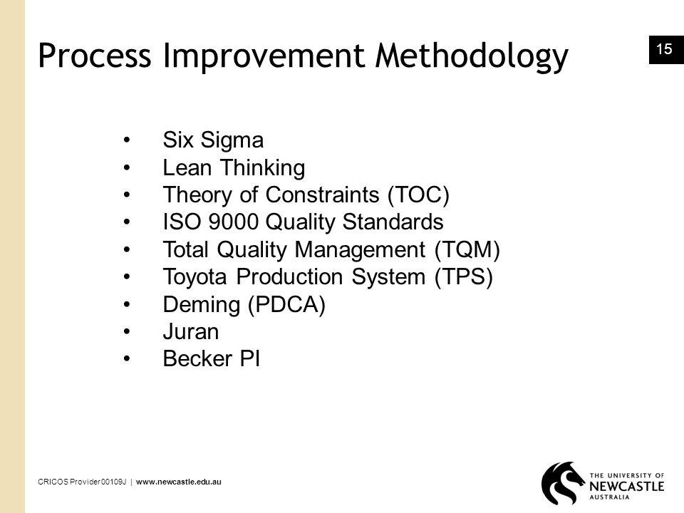 Process Improvement Methodology