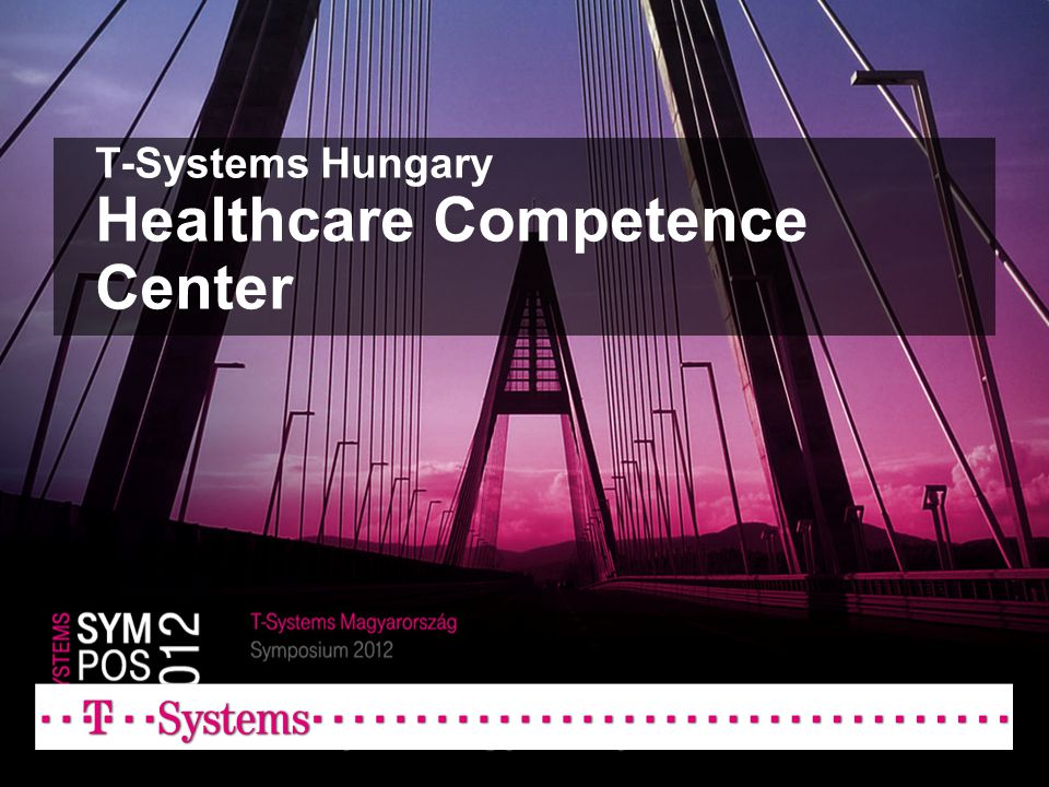 T-Systems Hungary Healthcare Competence Center