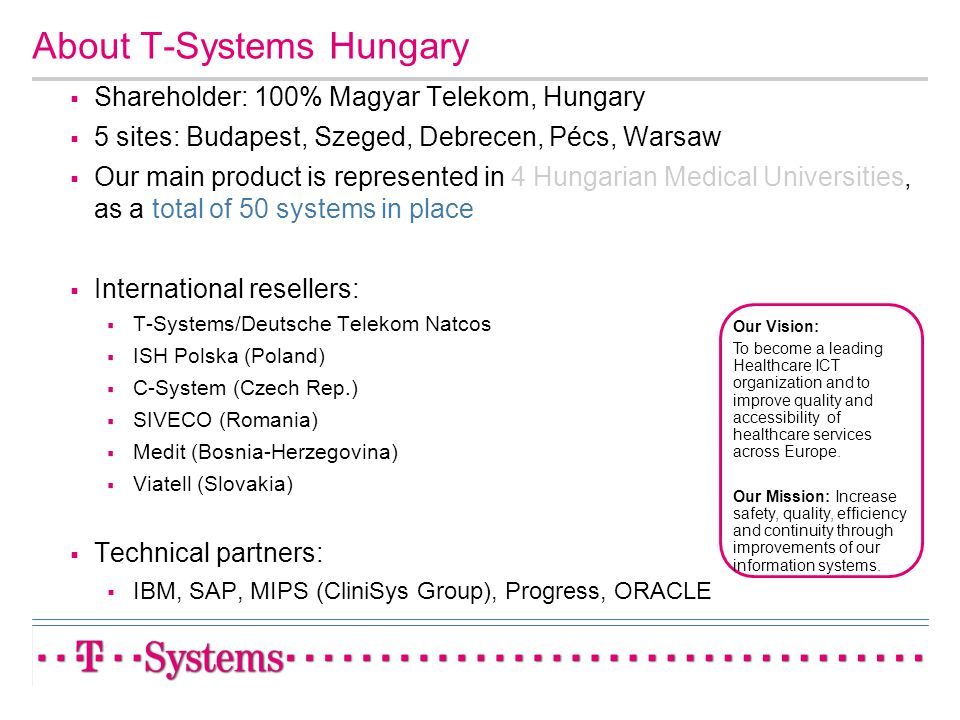 About T-Systems Hungary