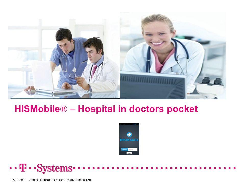HISMobile® – Hospital in doctors pocket