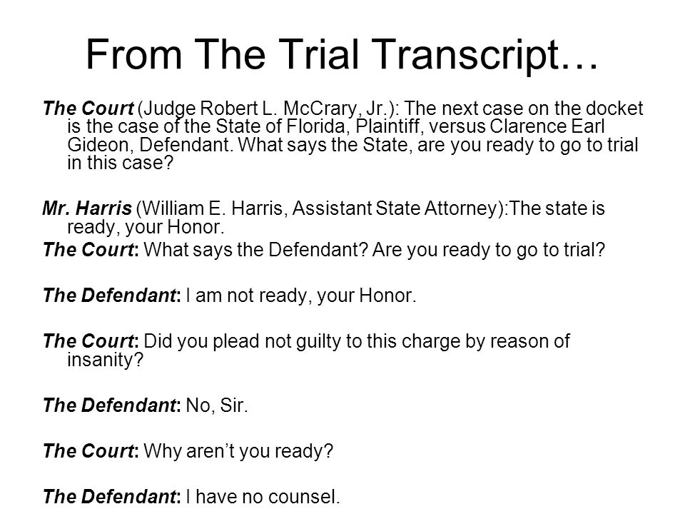 From The Trial Transcript…