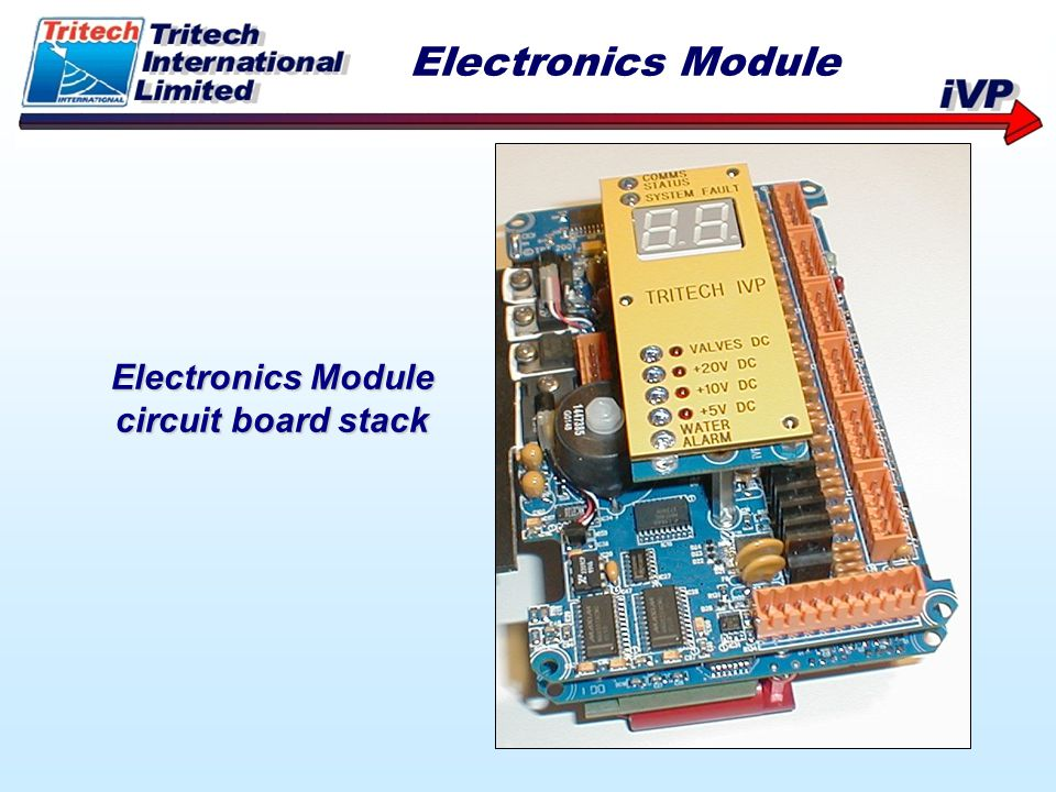 Electronics Module circuit board stack