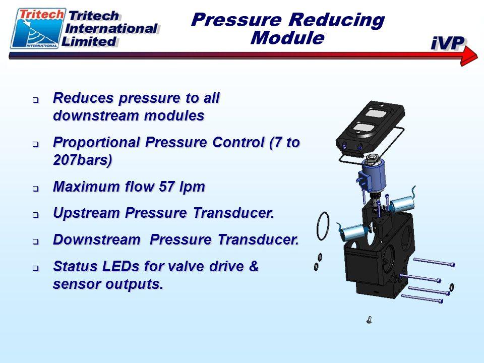 Pressure Reducing Module