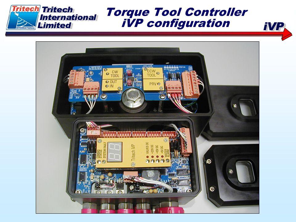 Torque Tool Controller iVP configuration
