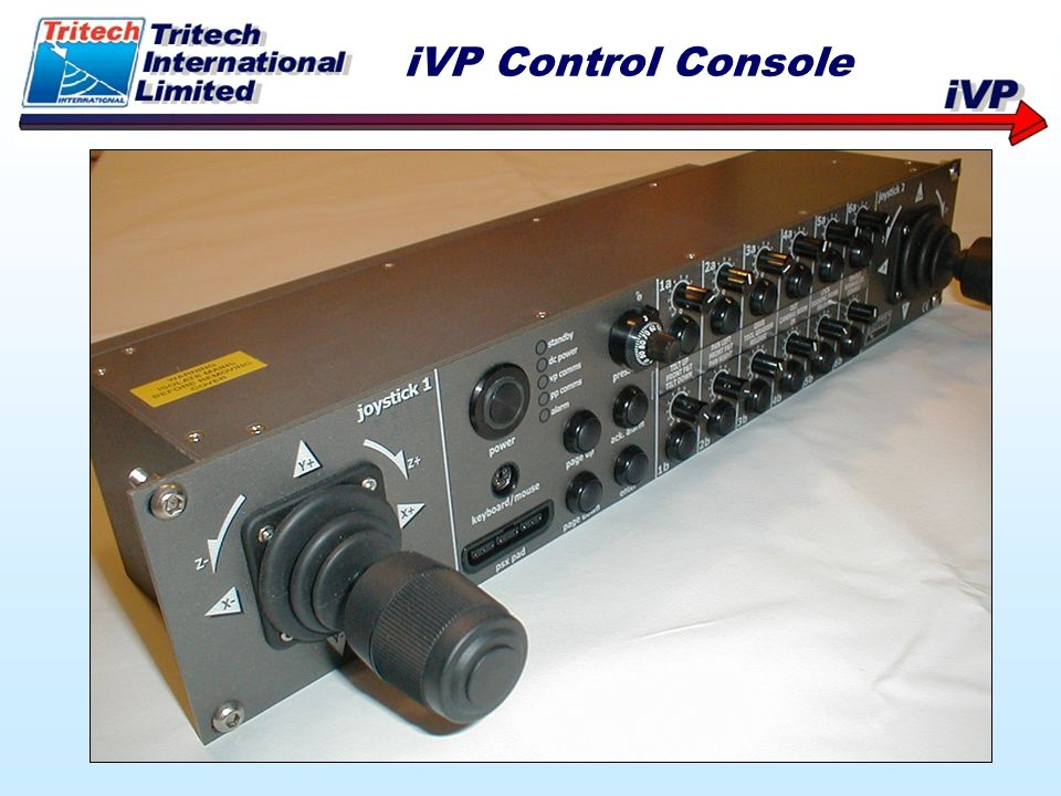 iVP Control Console
