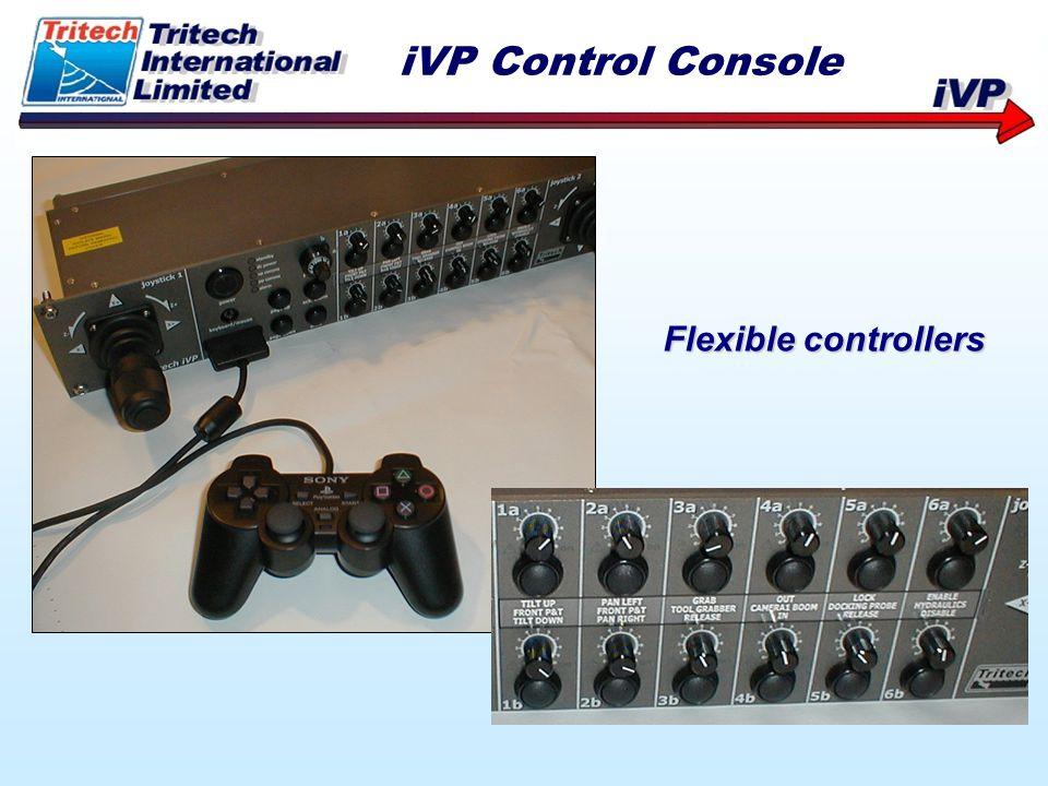 iVP Control Console Flexible controllers