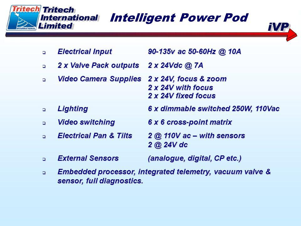 Intelligent Power Pod Electrical Input 90-135v ac 50-60Hz @ 10A