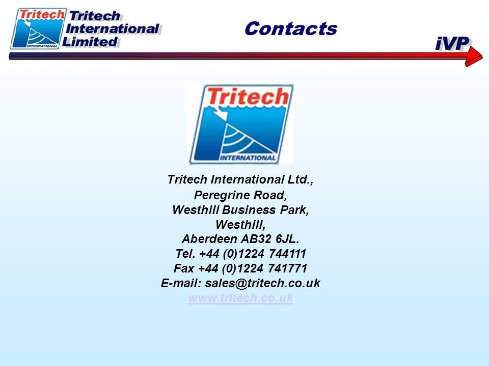 Contacts Tritech International Ltd., Peregrine Road,