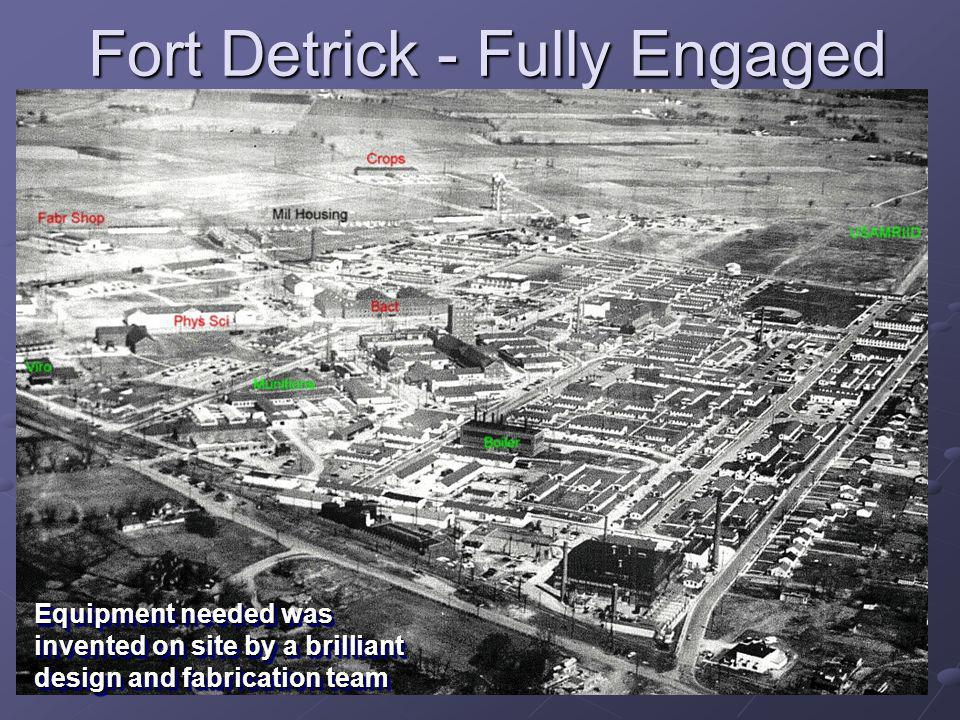 Fort Detrick - Fully Engaged