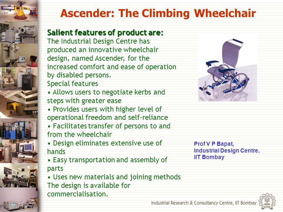 Ascender: The Climbing Wheelchair