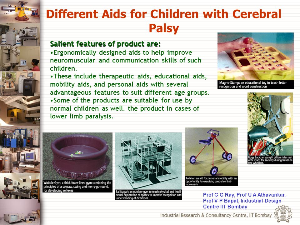 Different Aids for Children with Cerebral Palsy