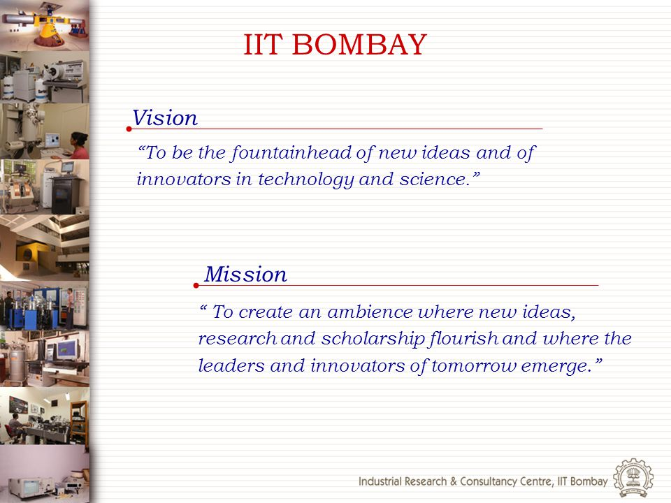 IIT BOMBAY Vision Mission