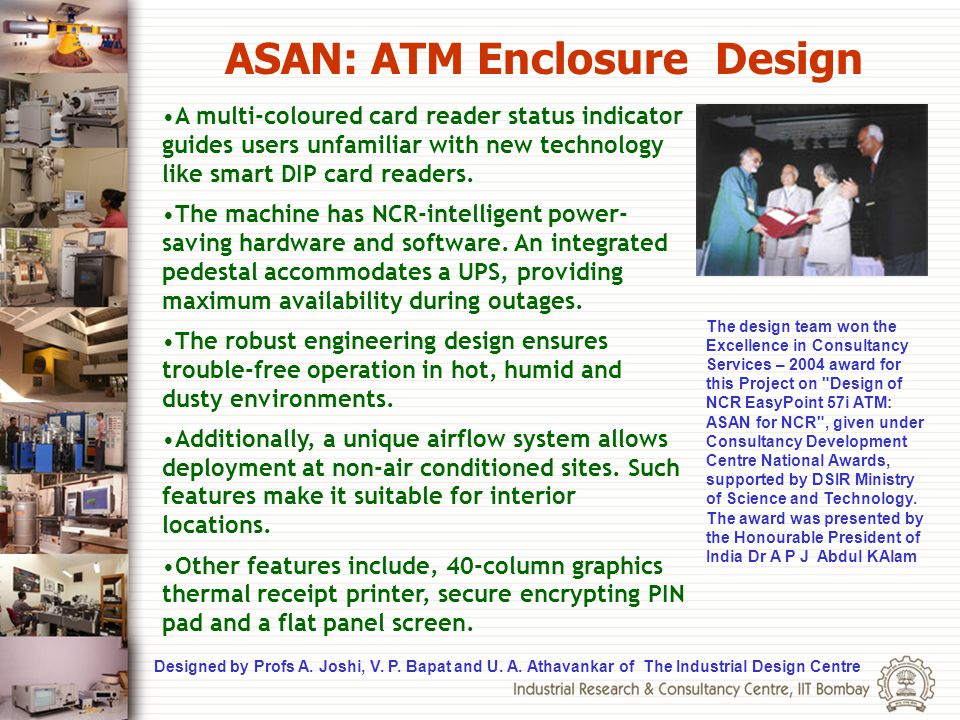 ASAN: ATM Enclosure Design