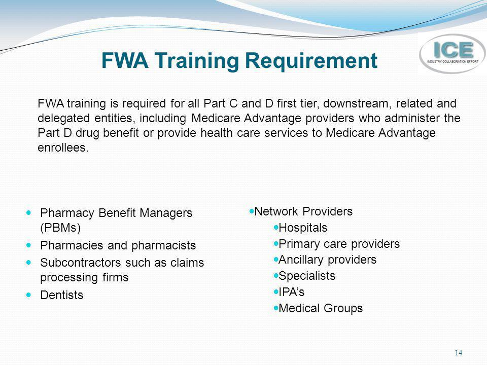 FWA Training Requirement