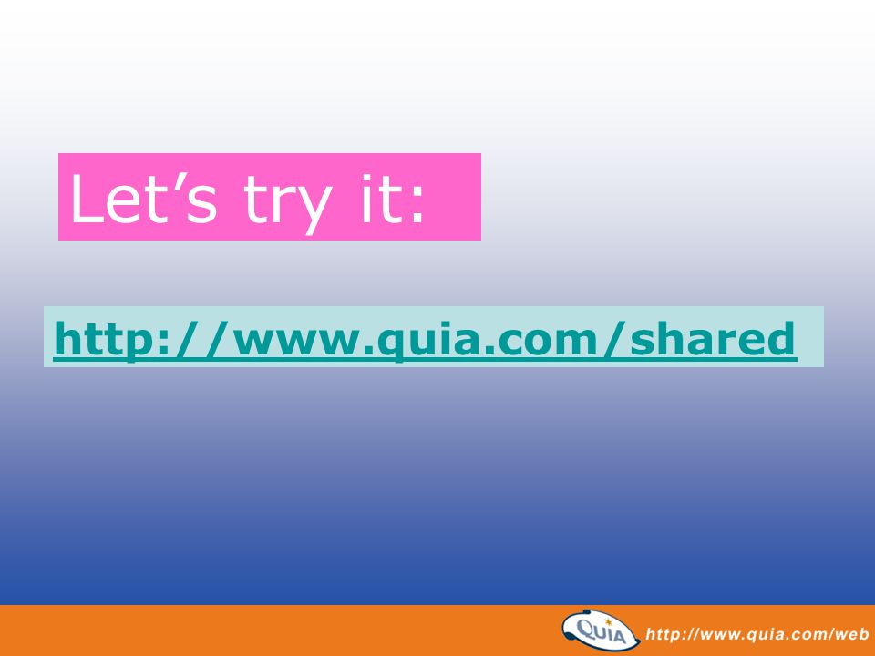 Let's try it: http://www.quia.com/shared