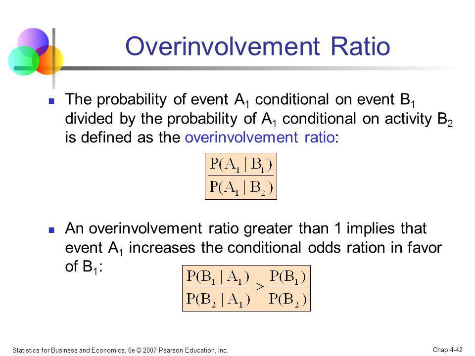 Overinvolvement Ratio