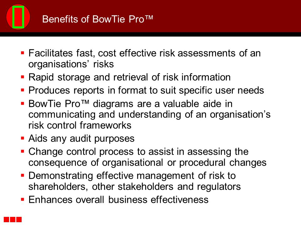 Benefits of BowTie Pro™